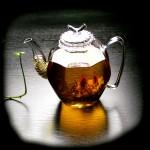 Jewel Glass tea pot