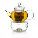 Premium 600ml Teapot and Warmer