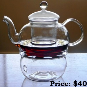 800ml teapot and warmer