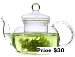 800ml Glass teapot Price