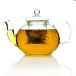 Traditional 1100ml Glass Teapot